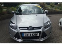 USED 2014 14 FORD FOCUS 1.6 TITANIUM NAVIGATOR 5d 148 BHP IN METALLIC SILVER WITH 51,500 MILES AND A FULL SERVICE HISTORY! APPROVED CARS AND FINANCE ARE PLEASED TO OFFER THIS FORD FOCUS 1.6 TITANIUM NAVIGATOR 5 DOOR 148 BHP IN METALLIC SILVER WITH 51,500 MILES AND A FULL SERVICE HISTORY AT 4K, 18K, 29K, 41K, AND 50K. THIS VEHICLE HAS GOT A GREAT SPEC SUCH AS ALLOY WHEELS, SATELLITE NAVIGATION, CRUISE CONTROL, PARKING SENSORS ( REAR ) AIR CONDITIONING AND MUCH MORE. THIS IS A VERY ECONOMICAL CAR WITH A GREAT SPEC AND BRILLIANT HISTORY NOT A VEHICLE TO BE MISSED, FOR FURTHER INFORMATION PLEASE CALL ON 01622871555.