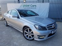 USED 2012 MERCEDES-BENZ C CLASS 2.1 C220 CDI BLUEEFFICIENCY AMG SPORT 2d 170 BHP