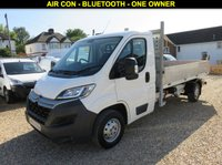 USED 2015 65 CITROEN RELAY 2.2 HDI 35 L3 TIPPER 130 BHP WITH AIR CON