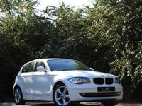 USED 2010 60 BMW 1 SERIES 2.0 118D SPORT 5d 141 BHP ONLY 70K FROM NEW A/C VGC