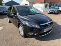 USED 2008 08 FORD FOCUS 2.0 TITANIUM 5d 145 BHP ONE YEAR WARRANTY INCLUDED / FULL HISTORY WITH 10 STAMPS IN THE BOOK / CRUISE CONTROL / PARKING SENSORS / PRIVACY GLASS