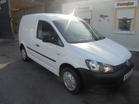 2013 VOLKSWAGEN CADDY 1.6 C20 TDI STARTLINE BLUEMOTION TECHNOLOGY FULL PRINT OUT SERVICE HISTORY, CRUISE CONTROL ££ FINANCE AVAILABLE ££ £3995.00
