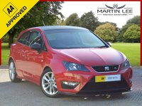 USED 2014 63 SEAT IBIZA 1.2 TSI FR 3d 104 BHP STUNNING 3 DOOR HOT HATCHBACK WITH STYLE PACK