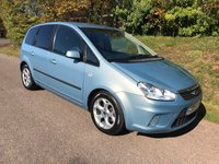 USED 2009 09 FORD C-MAX 1.6 ZETEC 5d 100 BHP **NEW MOT**FULL SERVICE HISTORY**CAMBELT DONE**