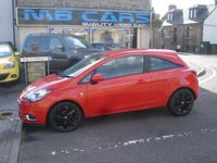 USED 2015 15 VAUXHALL CORSA 1.4 SRI ECOFLEX 3d 89 BHP 1 LADY OWNER, ONLY 28000 MILES FROM NEW, F,S,H
