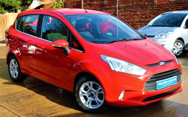USED 2016 16 FORD B-MAX 1.6 ZETEC 5d AUTO 104 BHP **** FULL SERVICE HISTORY * VERY LOW MILEAGE AUTOMATIC ****