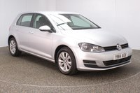 USED 2014 14 VOLKSWAGEN GOLF 1.6 SE TDI BLUEMOTION TECHNOLOGY 5DR 1 OWNER 103 BHP SERVICE HISTORY + FREE 12 MONTHS ROAD TAX + BLUETOOTH + CRUISE CONTROL + AIR CONDITIONING + MULTI FUNCTION WHEEL + DAB RADIO + ELECTRIC WINDOWS + RADIO/CD/USB/SD + ELECTRIC MIRRORS + 16 INCH ALLOY WHEELS