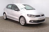 USED 2015 65 VOLKSWAGEN POLO 1.4 BLUEGT DSG 5DR AUTO 1 OWNER HALF LEATHER SEATS 148 BHP SERVICE HISTORY + £20 12 MONTHS ROAD TAX + HALF LEATHER SEATS + BLUETOOTH + CRUISE CONTROL + AIR CONDITIONING + MULTI FUNCTION WHEEL + DAB RADIO + ELECTRIC WINDOWS + RADIO/CD/AUX/USB + ELECTRIC MIRRORS + 17 INCH ALLOY WHEELS