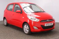 USED 2013 13 HYUNDAI I10 1.2 ACTIVE 5DR 85 BHP FULL SERVICE HISTORY + £20 12 MONTHS ROAD TAX + AIR CONDITIONING + RADIO/CD/AUX/USB + ELECTIC WINDOWS + ELECTRIC MIRRORS + 14 INCH ALLOY WHEELS