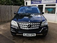 USED 2010 60 MERCEDES-BENZ M CLASS 3.0 ML300 CDI BLUEEFFICIENCY SPORT 5d AUTO 204 BHP 46K 20'ALLOYS PADDLE SHIFTS PRIVACY GLASS PARKING SENS EXC CONDITION