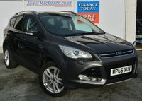 USED 2015 65 FORD KUGA TITANIUM X 5dr Petrol Family SUV AUTO with Massive High Spec inc Sunroof Sat Nav Heated Leather Seats and much more ***PERFECT FAMILY SUV**