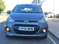 USED 2016 16 HYUNDAI I10 1.2 SE 5d 86 BHP Only 5,738 miles, Only One Owner, Rear parking sensors, Air conditioning,12 months tax only £30, Remote central locking, electric windows, USB/AUX input socket, PAS,ABS, service history.