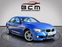2013 BMW 3 SERIES 2.0 318D M SPORT 4d 141 BHP £10485.00