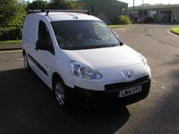 USED 2014 14 PEUGEOT PARTNER 1.6 HDI PROFESSIONAL 74 BHP VAN - NO VAT 3 Seater, Only 42000 miles, Service History, Air Con