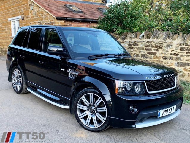 2013 63 LAND ROVER RANGE ROVER SPORT 3.0 SDV6 AUTOBIOGRAPHY SPORT 5d AUTO 255 BHP