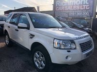 USED 2010 10 LAND ROVER FREELANDER 2.2 TD4 GS 5d AUTO 159 BHP LEATHER INTERIOR, ALLOY WHEELS, AUTOMATIC GEARBOX, RECENT CAMBELT