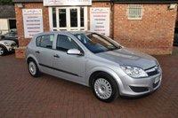 2008 VAUXHALL ASTRA 1.8 LIFE A/C 16V E4 5d AUTO 140 BHP £1995.00