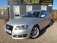 USED 2012 12 AUDI A3 2.0 TDI Sport Sportback S Tronic 5dr 2 Owners, Full Audi History