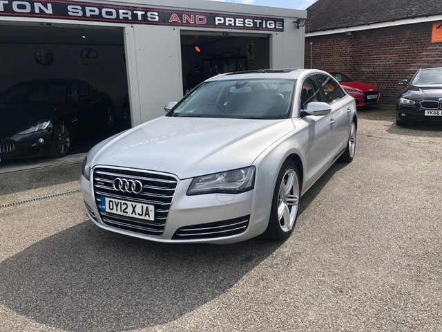AUDI A8 at Euxton Sports and Prestige