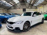 USED 2016 66 BMW 4 SERIES 2.0 420d M Sport 2dr PERFORMANCE KIT PLUS PACK 20S!