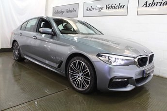 2017 BMW 5 SERIES 2.0 530e iPerformance 9.2kWh M Sport Auto (s/s) 4dr £25995.00