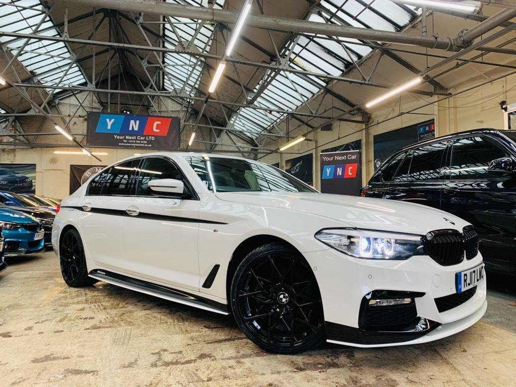 USED 2017 17 BMW 5 SERIES 2.0 520d M Sport Auto (s/s) 4dr PERFORMANCE KIT 20S FMWSH!