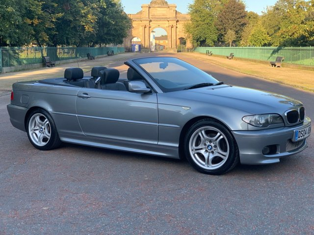 USED 2004 04 BMW 3 SERIES 2.0 318CI SPORT CONVERTIBLE