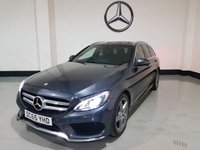 "USED 2016 65 MERCEDES-BENZ C CLASS 2.0 C200 AMG LINE 5d AUTO 184 BHP 2016 Heated Leather /Sat-Nav/ Camera /Power Boot/ 18"" Alloys"