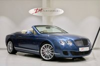 USED 2009 09 BENTLEY CONTINENTAL 6.0 GTC SPEED 2d AUTO 601 BHP RECENT £11K BENTLEY SERVICE!!!
