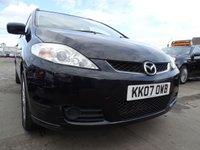 USED 2007 07 MAZDA MAZDA 5 1.8 TS2 5d 7 SEATER 1 YEAR MOT GOOD SPEC
