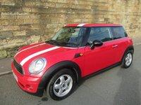 2009 MINI HATCH ONE 1.4 ONE 3d 94 BHP £3200.00