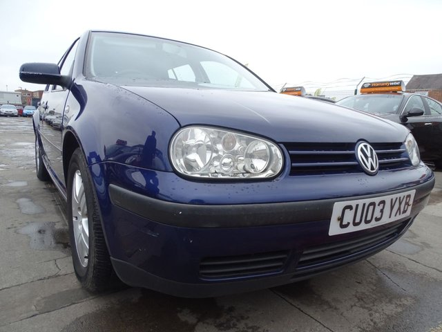 USED 2003 03 VOLKSWAGEN GOLF 1.9 MATCH TDI 5d GREAT SERVICE DRIVES A1