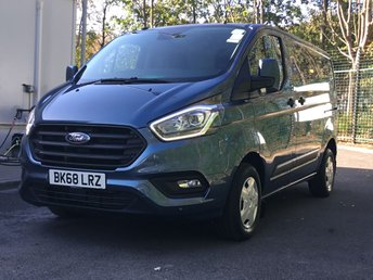 FORD TRANSIT CUSTOM at Van Ninja