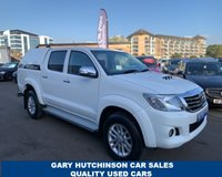 USED 2015 TOYOTA HI-LUX 2.5 ICON 4X4 D-4D DCB 1d 142 BHP