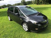 USED 2014 VAUXHALL ZAFIRA TOURER 2.0 SRI CDTI 5d 162 BHP **EXCELLENT FINANCE PACKAGES**7 SEATER**CRUISE CONTROL**
