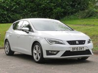 USED 2015 15 SEAT LEON 2.0 TDI FR TECHNOLOGY 5d 184 BHP FULL HISTORY WITH 7 SERVICES!