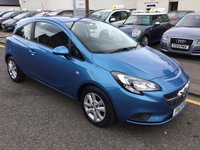 USED 2017 17 VAUXHALL CORSA 1.2 DESIGN CDTI ECOFLEX S/S 3d 74 BHP STUNNING 2017 VAUXHALL CORSA DIESEL WITH LOW MILLAGE AND FULL SERVICE HISTORY !!