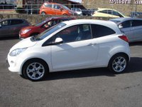 USED 2014 64 FORD KA 1.2 TITANIUM 3d 69 BHP ROAD TAX ONLY £30 A YEAR AND LOW MILEAGE