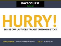 USED 2013 13 FORD TRANSIT CUSTOM 2.2 290 LR P/V 1d 99 BHP PLUS VAT