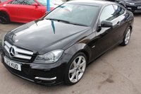 USED 2012 12 MERCEDES-BENZ C CLASS 2.1 C220 CDI BLUEEFFICIENCY AMG SPORT 2d AUTO 170 BHP