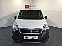 USED 2017 17 PEUGEOT PARTNER 1.6 BLUE HDI S L2 1d 100 BHP EURO 6, 1 OWNER FSH LONG WHEEL BASE  EURO 6, LONG WHEEL BASE, NEW MOT AND SERVICE