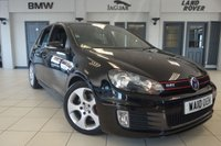 USED 2010 10 VOLKSWAGEN GOLF 2.0 GTI 5d 210 BHP FINISHED IN STUNNING BLACK WITH FULL CLOTH UPHOLSTERY + FULL SERVICE HISTORY + FRONT & REAR PROXIMITY PARKING SENSORS + DAB DIGITAL RADIO + ELECTRIC HEATED FRONT SEATS + DUAL ZONE AIR CONDITIONED CLIMATE CONTROL + MULTIPURPOSE STEERING WHEEL + 17 INCH ALLOY WHEELS
