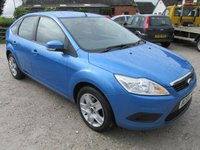 USED 2010 59 FORD FOCUS 1.6 STYLE 5DR AIR CON CD ELECTRIC PACK LOW MILEAGE