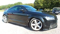 USED 2011 11 AUDI TT 2.0 TDI QUATTRO S LINE 2d 170 BHP ALLOY WHEELS, FULL BLACK LEATHER TRIM, AIR-CONDITIONING, REAR SPOLIER, ELECTRIC WINDOWS, ELECTRIC MIRRORS, CD-PLAYER, REMOTE LOCKING, 2 X KEYS, ECONOMICAL, NATION WIDE DELIVERY,
