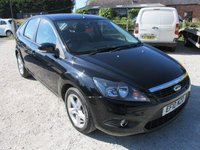 USED 2010 10 FORD FOCUS 1.6 ZETEC 5DR ALLOYS CD AIRCON SERVICE HISTORY LOW MILEAGE