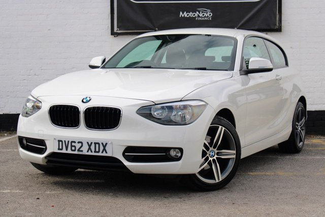 2013 62 BMW 1 SERIES 2.0 116D SPORT 3d 114 BHP