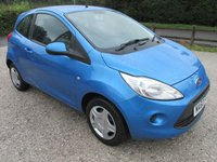 USED 2010 60 FORD KA 1.2 EDGE 3DR AIRCON CD LOW MILES LOW TAX LOW INSURANCE 30 POUNDS ROAD TAX