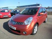 2008 NISSAN NOTE 1.6 ACENTA 5d AUTO 109 BHP £3495.00