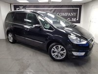 USED 2012 12 FORD GALAXY 1.6 TITANIUM X TDCI 5d + GLASS ROOF + FULL LEATHER