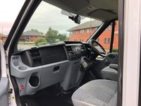 USED 2014 14 FORD TRANSIT 2.2 350 DOUBLE CAB 155 BHP A/C ARBORIST TIPPER